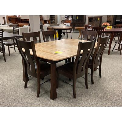 48X60 Table Set with 2 Leaves