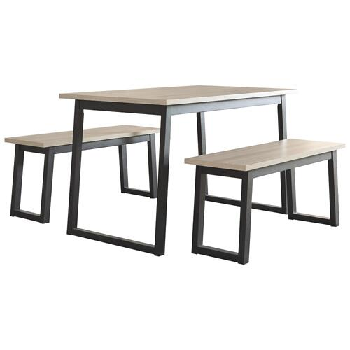 CLEARANCE Waylowe 3pc Dining Set