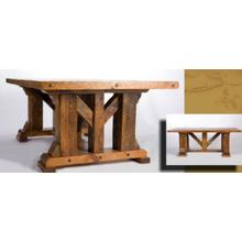 Windy Stables King Ranch Dining Table