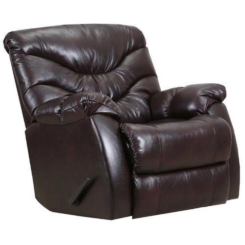 4219-18 Getaway Swivel Rocker Recliner - Yellowstone Walnut Leather