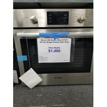 "Bosch 500 Series 30"" Single Electric Wall Oven HBL5351UC (FLOOR MODEL)"