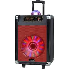 See Details - SuperSonic 12-Inch Rechargeable Bluetooth DJ Speaker with Woofer, IQ3612DJBT, Black