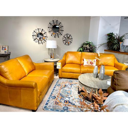 Soft Line - Everest Italian Leather Sofa & Loveseat