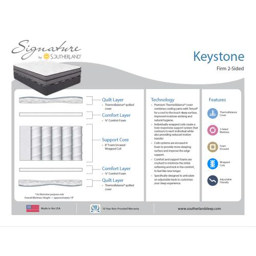 Southerland - Signature Collection - Keystone - Firm