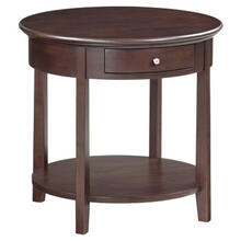 McKenzie round end table