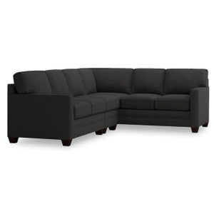 Alex Track Arm Left Sectional - Charcoal