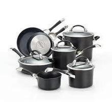 See Details - Circulon Symmetry Hard-Anodized Nonstick 11-Piece Cookware Set