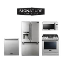 Signature Kitchen Suite 4-Piece Kitchen Package. Price Valid Thru 8/31/20