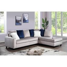 Cindy - Reversible Sectional - Grey