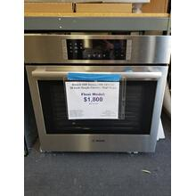"Bosch 800 Series 30"" Single Electric Wall Oven HBL8451UC (FLOOR MODEL)"