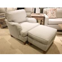 "Rowe "" Brooke"" Chair & Ottoman"