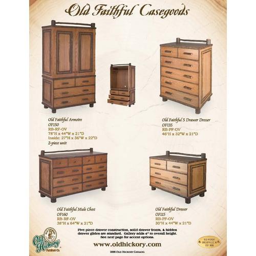 Old Faithful Casegoods