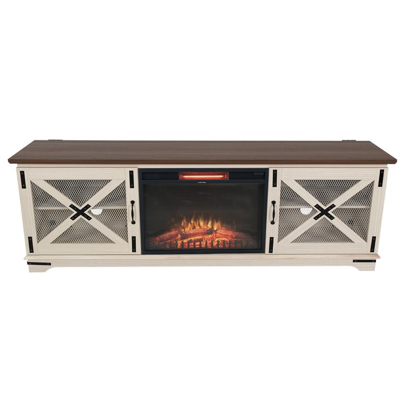 """View Product - Jackson 73"""" Fireplace TV Stand"""