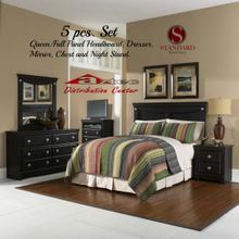 Standard Furniture 50400 Carlsbad Panel Bedroom set Houston Texas USA Aztec Furniture