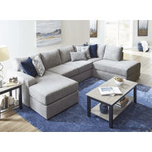 3 Piece Sectional - Oasis Flagstone
