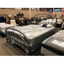 Cal-King Wesley Allen frame and Serta Cal King Mattress Set. Special pricing!! Avail for Delivery!!