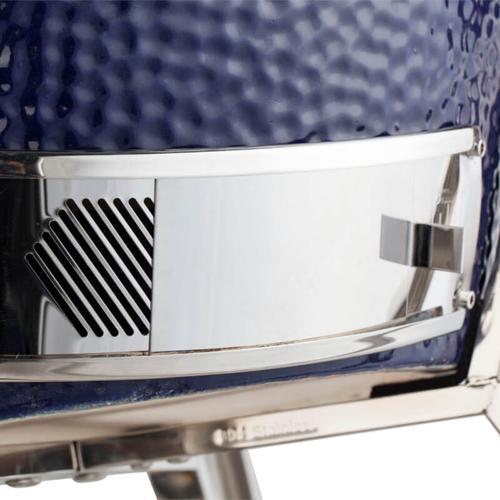 "Saffire Kamado Grill Head - Platinum - Large 19"" - Blue"