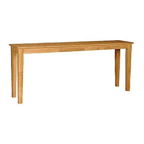 "Shaker Sofa Table 72"""