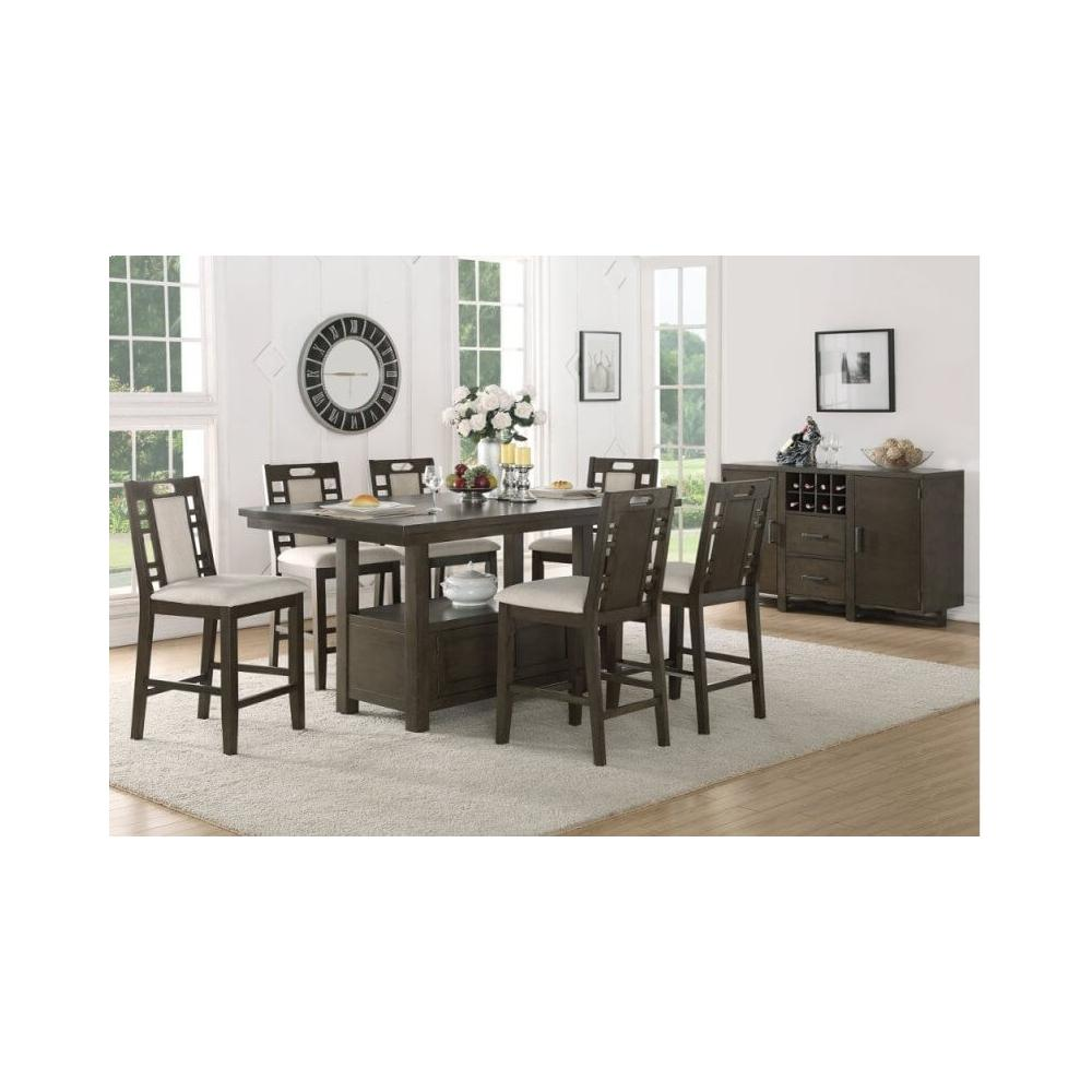 See Details - 7 Pc Counter Height Dining Set
