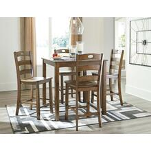 D419-223  Table and 4 Stools