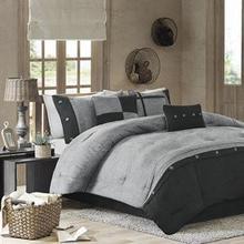 See Details - Boone 7 piece Comforter Set - King