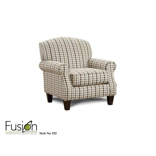 Hounds Tooth Accent Chair