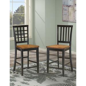 Intercon Furniture - Arlington 30 Slat Back Barstool