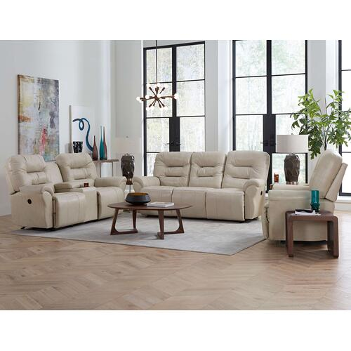 Unity Medium Leather Power Rocker Recliner (Sand)