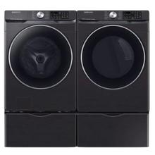 SAMSUNG 4.5 cu. ft. Smart Front Load Washer with Super Speed & 7.5 cu. ft. Smart Electric Dryer with Steam Sanitize  - Open Box