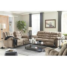 Ashley 584 Workhorse Cocoa Reclining Sofa and Love