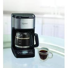See Details - Capresso 5-Cup Mini Drip Stainless Steel Coffee Maker