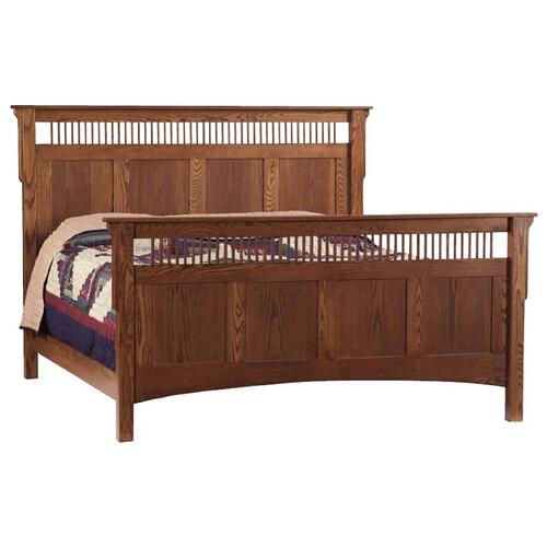 Deluxe Mission Twin- Size Bed