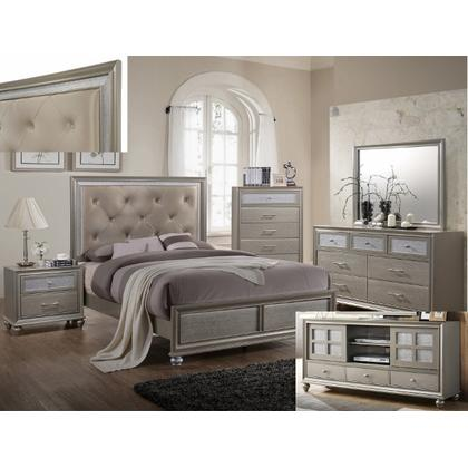 Lila - Queen Bed, Dresser, Mirror, Nightstand, and Chest