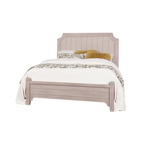 King Bungalow Dover Grey Upholstered Bed