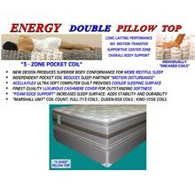 Energy Double Pillow Top - Queen