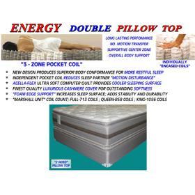 Energy Double Pillow Top - Queen