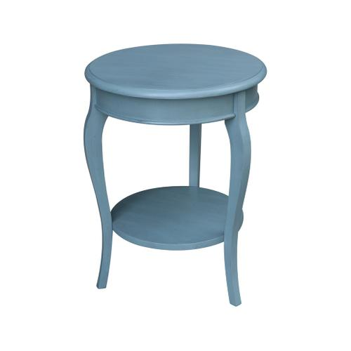 Cambria Accent Table in Ocean Blue