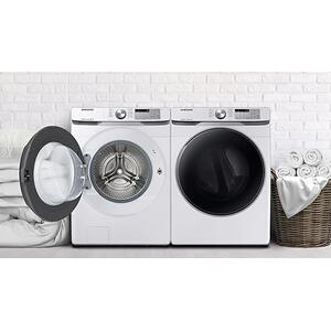 Packages - Samsung Front Load Washer & Dryer Pair - White
