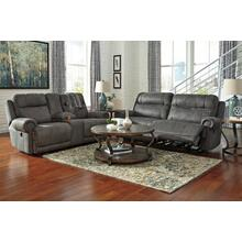 Austere- Gray Reclining Sofa and Loveseat