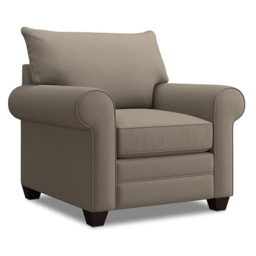 Alex Roll Arm Chair - Fog