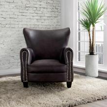 ELEMENTS UAD-3005101 Adams Sierra Espresso Chair