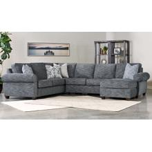 Wood House Upholstery Merrick Sectional - Slate