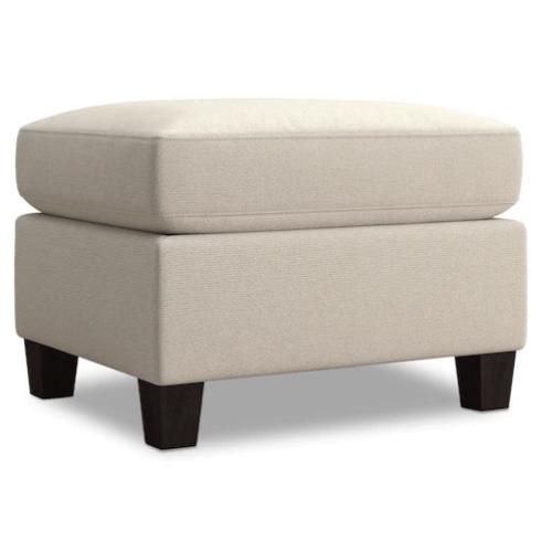 Spencer Ottoman - Cream Fabric