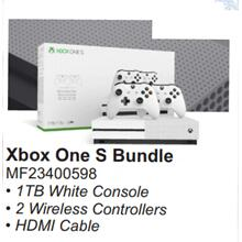 XBOX One S Bundle with Extra Controller