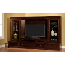 Amish Maple Hill Custom Wall Unit