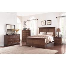 Panel Queen Bed, Hazelnut