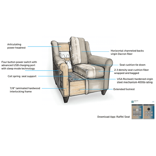 Bassett Furniture - Premiere Collection - Magnificent Motion Reclining Sofa