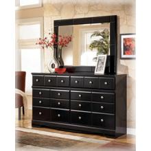 Shay - Almost Black Collection: Dresser & Mirror