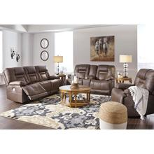 Ashley Wurstrow Umber 3-Pc. Reclining Set with Power and Adjustable Headrests