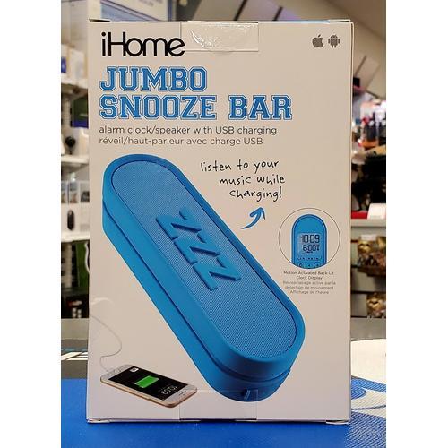 IHome Jumbo Snooze Bar